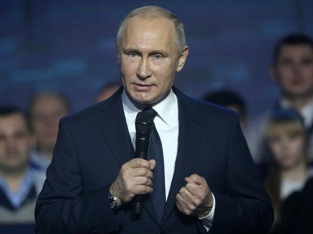Vladimir Putin. Photo: Getty Images