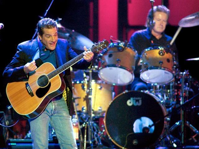 Glenn Frey of the Eagles performs in Las Vegas. Photo: Reuters