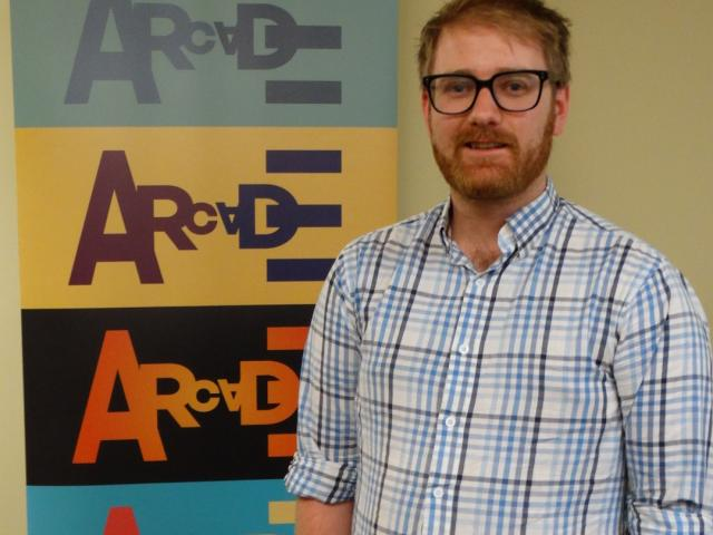 Alex Wilson, back in Dunedin to continue his studies, leads the new Arcade Theatre Company. PHOTO...