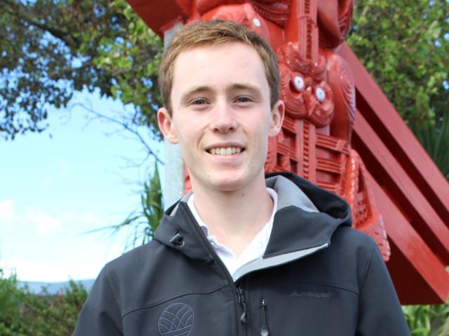 Greymouth student Ben Williams (17). Photo: Greymouth Star