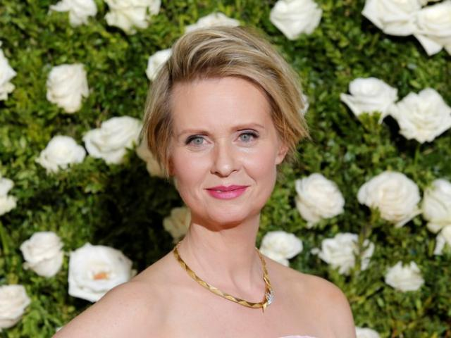 Actress and activist Cynthia Nixon (June 2017) Photo: Reuters