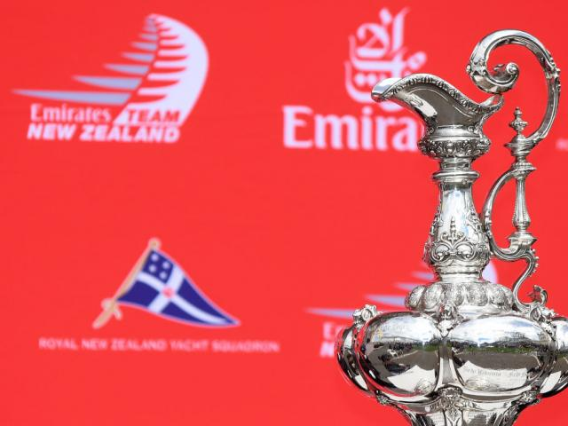 The America's Cup defence will take place in Auckland. Photo Getty Images