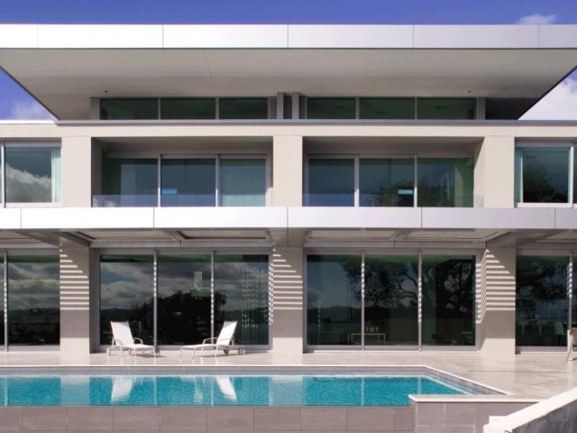 This modernist home just sold for nearly $30m. Photo: NZ Herald