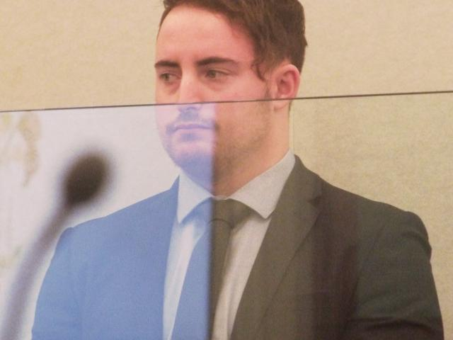 Rowan Blackbourn (20) made secret videos of naked students and stored them in a file on his phone...