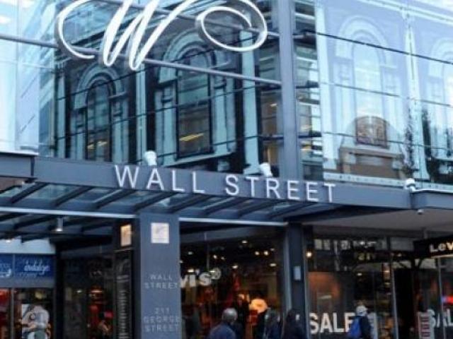 Dunedin's Wall Street mall. Photo: ODT