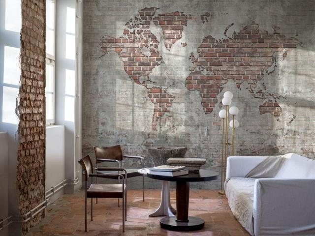 The wall-sized murals can be scaled for any wall.