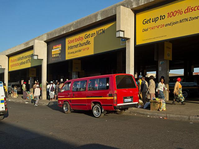 Minibus taxis are the most popular form of transport in South Africa, with violence between...