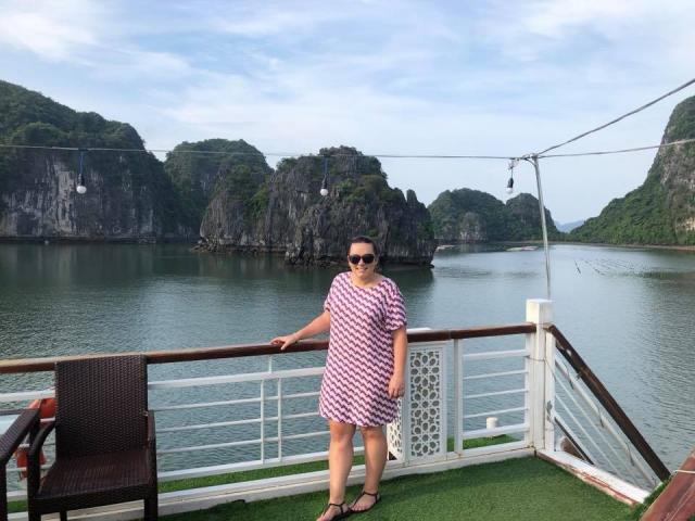 Stephanie, Ha Long Bay