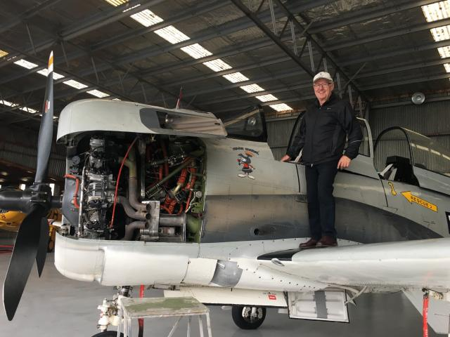 A recent acquisition of a T-28 Trojan - just the third one of its kind in the country - by pilot...