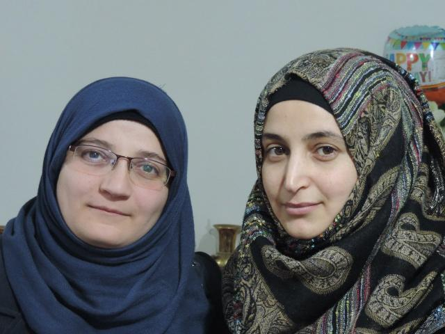 Waad Alsaid (left) and Manahel Haroura. Photo: Supplied