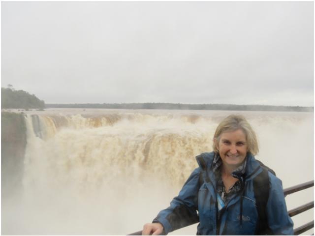 Rachel Carr from House of Travel Dunedin realises a lifelong dream of visiting Iguassu Falls.