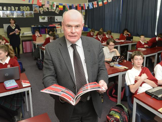 Kaikorai Valley College deputy principal John Downes is about to have another go at retirement....