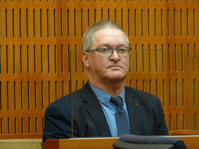 Former Oamaru doctor Stephen James Dawson awaits his sentencing at the Timaru District Court...