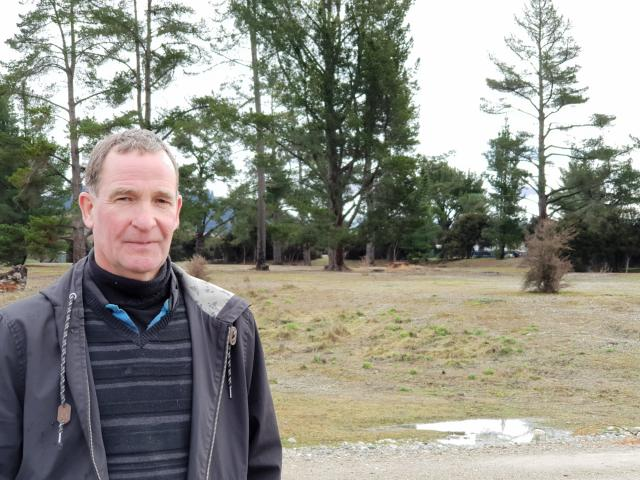 Albert Town campground manager Rudi Sanders says most people living long-term at the campground ...