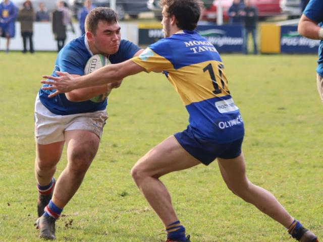 Southland Boys' High School hooker Jacob Payne, in action against Taieri earlier in the season,...