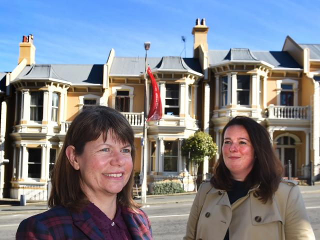 The Dunedin City Council has recruited Andrea Farminer (left) as the council's new heritage...