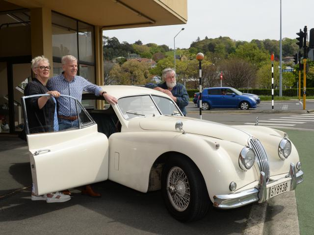 Peter and Madelon White and friend Nicholas Langford will compete in the vintage section of the...