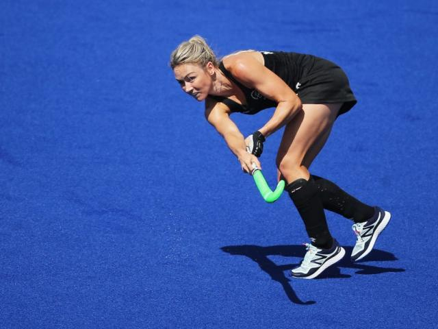Anita McLaren retires as the Black Sticks' top goal scorer. Photo: Getty Images