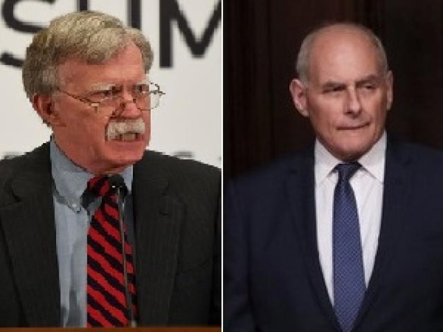 US National Security Adviser John Bolton and White House Chief of Staff John Kelly. Photos: Reuters