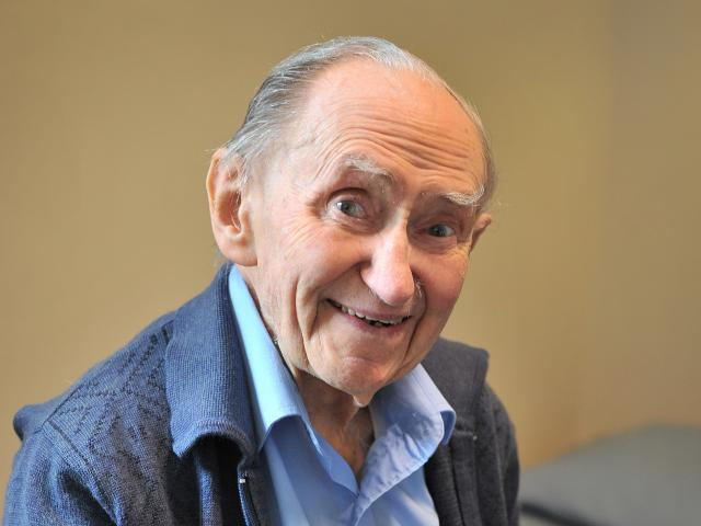 Emeritus Prof Alan Horsman, of Dunedin, turns 100 today. Photo: Christine O'Connor