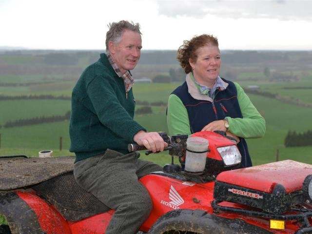 Wilson and Gaylene Ronald are among those opening their farm gate for the Southern Texel Breeders...