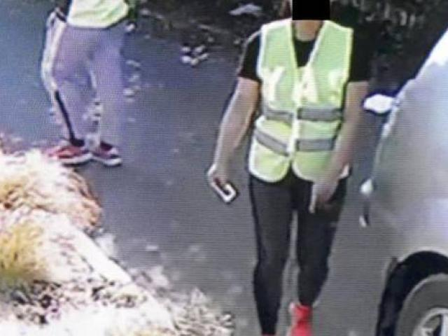 Two 4 Seasons workers caught on camera outside the young mother's house, whom they later...