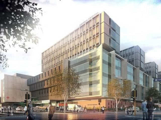 An artist's impression of plans for a new Dunedin Hospital. Image: Supplied