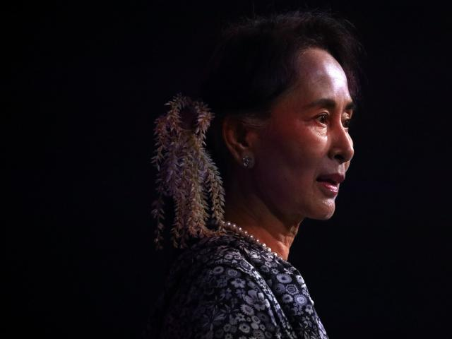 Once hailed as a champion in the fight for democracy, Aung San Suu Kyi has been stripped of a...