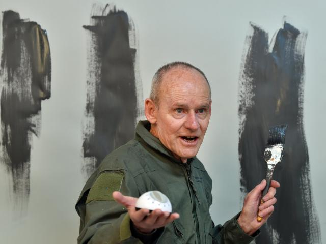 Simon O'Connor stars in Watching Paint Dry. Photo: Peter McIntosh