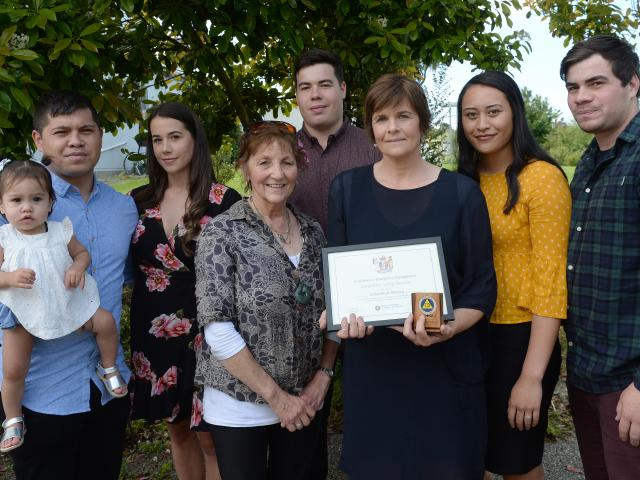 During a short ceremony yesterday, the family of late Senior Constable Stefan Witehira, of...