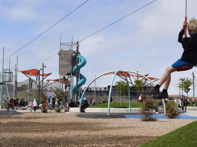 The development of a smaller ''metro-style'' version of Christchurch's Margaret Mahy playground ...