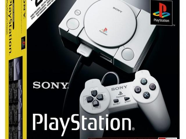 PlayStation Classic console. Photo: Supplied