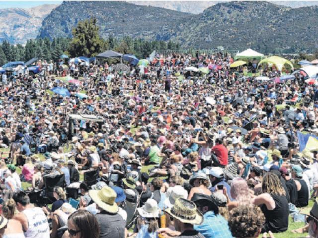 About 5000 people enjoyed last year's Wanaka Rodeo.