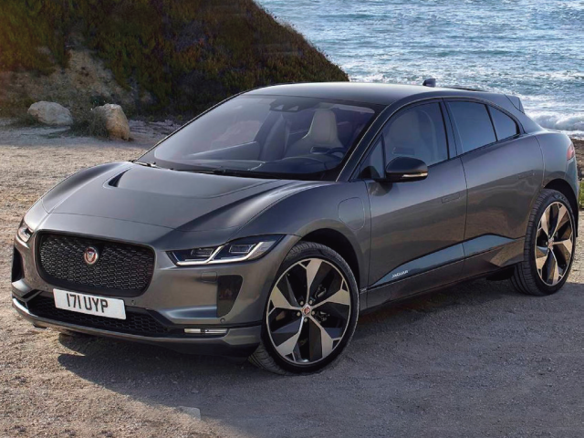 The highly anticipated all-electric Jaguar I-PACE SUV