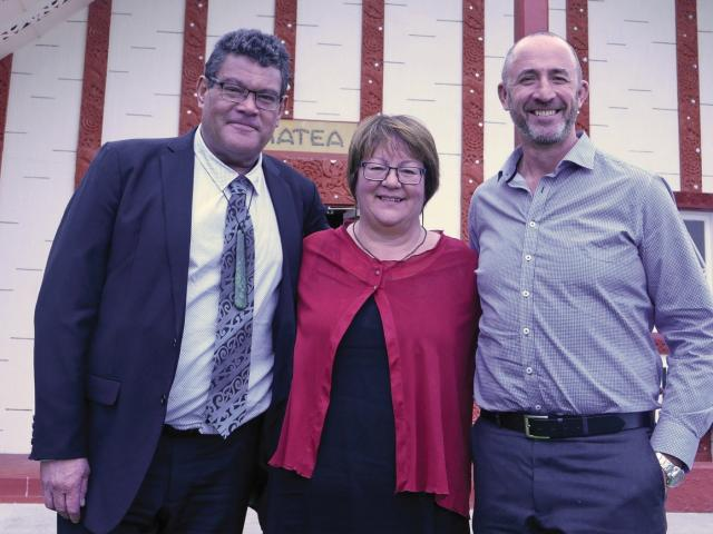 Māori Health's New Leadership Team, Gilbert Taurua, Nancy Todd, and Peter Ellison