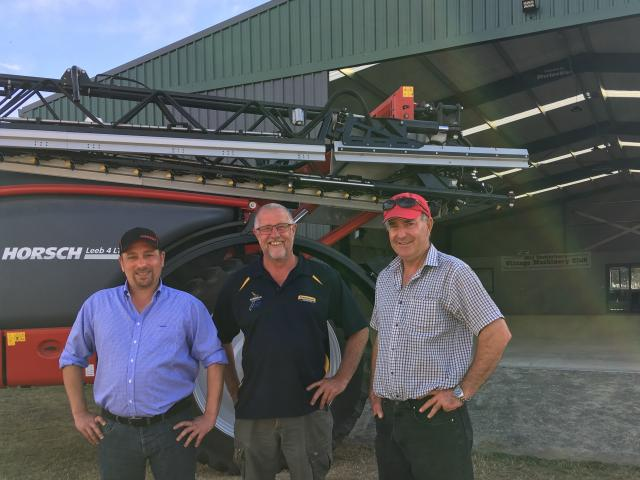 During Norwood's three-day training session at the Canterbury Vintage Machinery Club's site at...