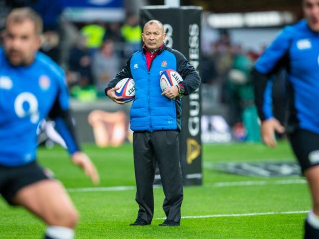 Eddie Jones before England's game against Scotland at the weekend. Photo: Getty Images