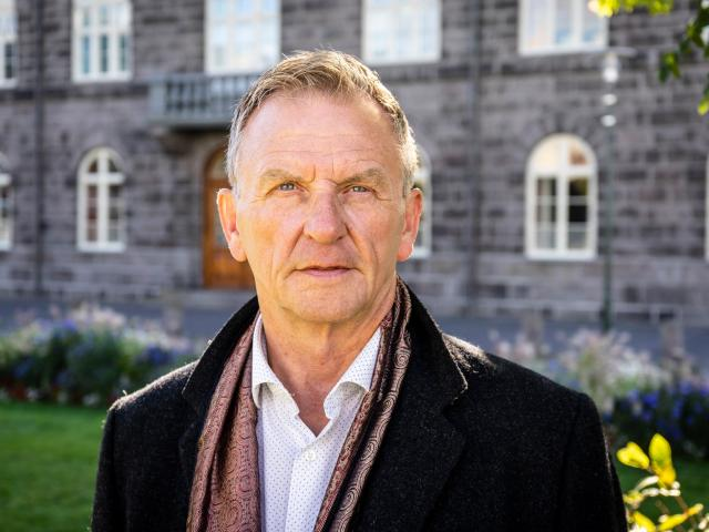 Hordur Torfason says as a young man he was looking for a leader to follow but couldn't find one,...