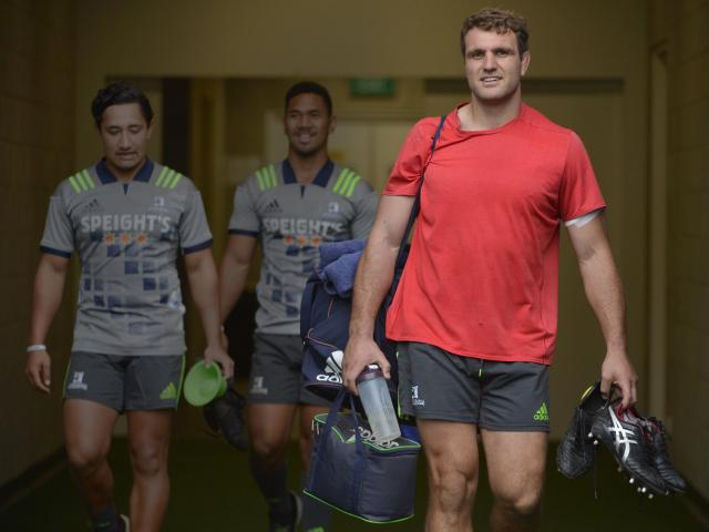 Highlanders co-captain Luke Whitelock is back from a calf complaint and is hoping to make an...