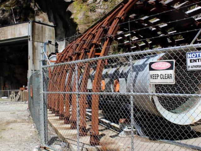 A methane explosion closed the mine in November 2010. Photo: Greymouth Star