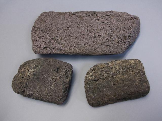 Tautuku scoria stones. Photo: Supplied