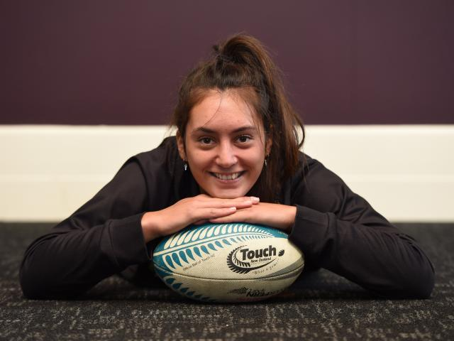 Atawhai Hotene (20) is back in Dunedin after impressing for the Touch Blacks mixed team at the...