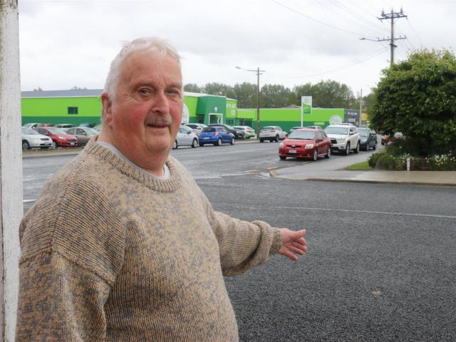 Balclutha resident Michael Brough is determined to get intersection parking rules changed to make...