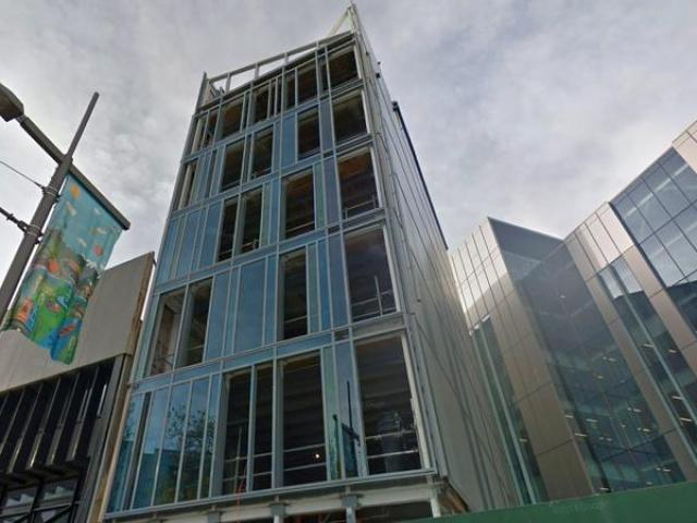 The building at 230 High Street, Christchurch, during its construction. Photo: Google Maps