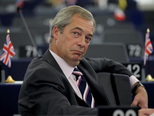 Nigel Farage. Photo: Reuters