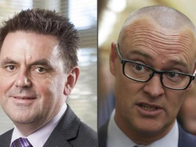 Southern DHB chief executive Chris Fleming (left) and Health Minister David Clark. Photos:...