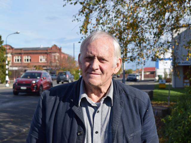 Evan Sadler, of Mosgiel, wants the Dunedin City Council to provide a water supply without...