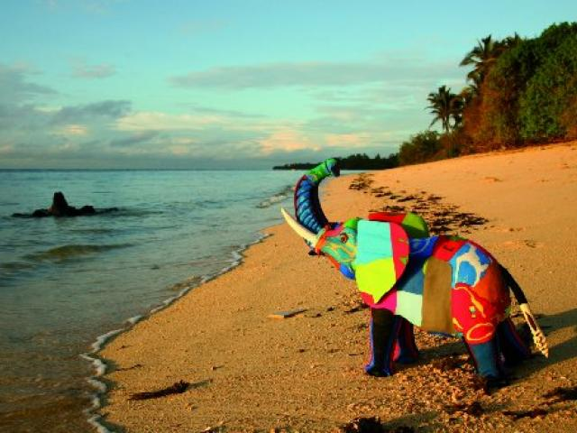 Ocean Sole turns reclaimed flip-flops into colourful, hand-made animal toys and sculptures....