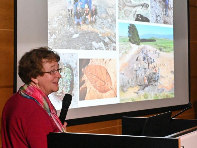 University of Otago palaeontologist Associate Prof Daphne Lee speaks about the value of Foulden...