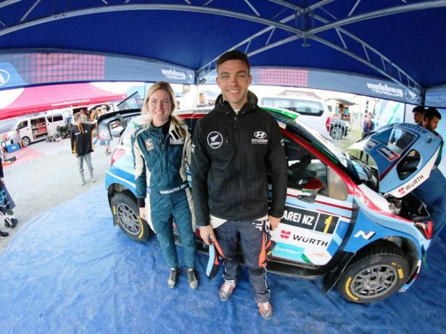 Hyundai rally driver Hayden Paddon will compete in Saturday's one-day South Canterbury Rally with...